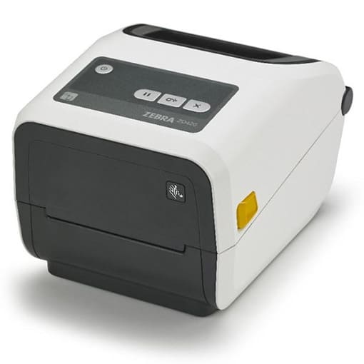 Zebra ZD420t Healthcare Thermotransferdrucker 300 dpi, mit Abreisskante  Ethernet, ZD42H43-T0EE00EZ