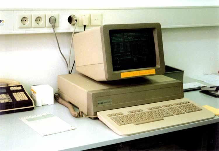 EDV Arbeitsplatz 80-ger Jahre