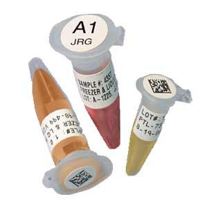 Etiketten Deckelkennzeichnung selbst gedruckt