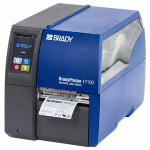 Brady Etikettendrucker Industriedrucker